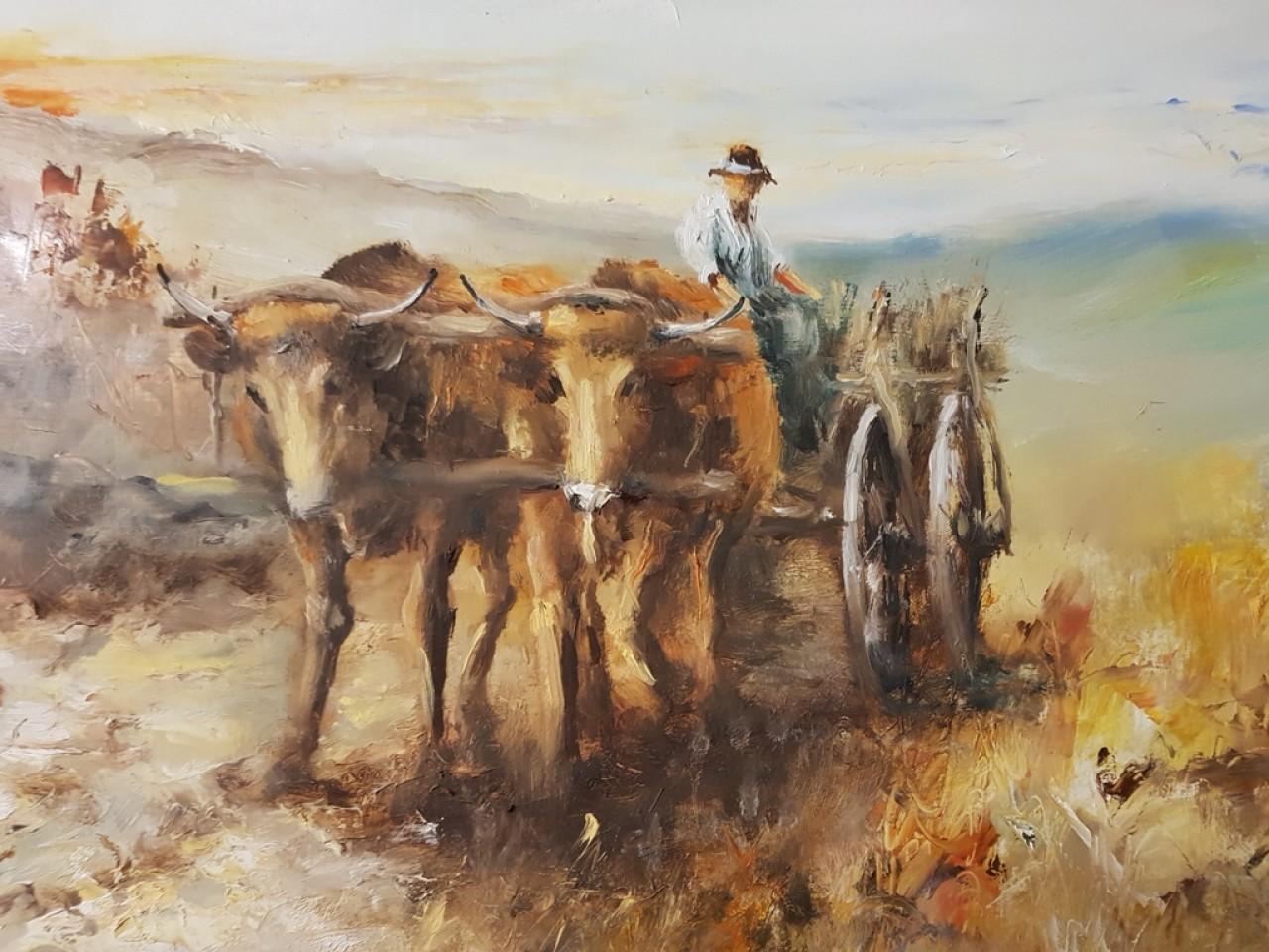 Almási László olajfestménye