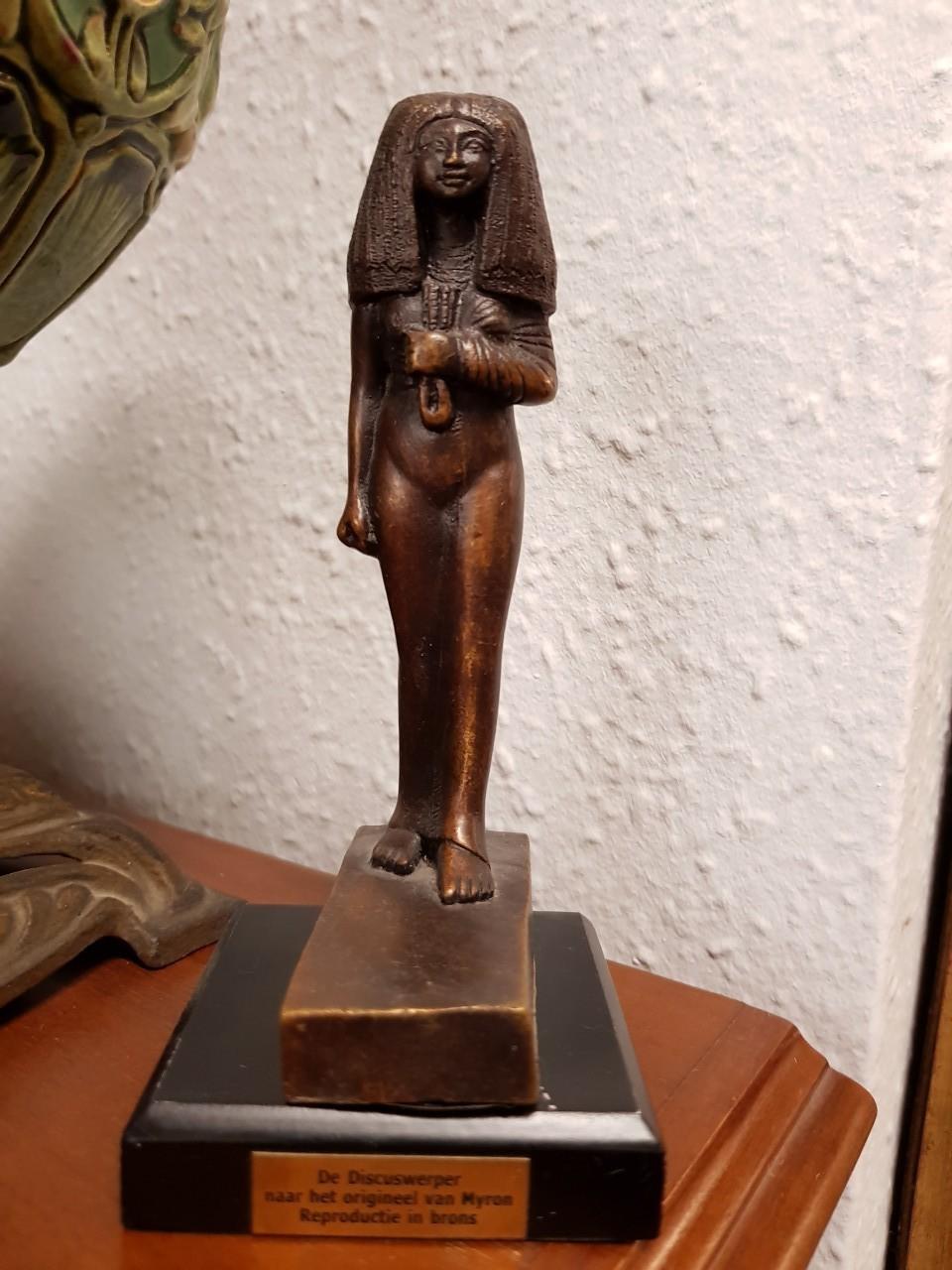 Fáraó bronz reprodukció