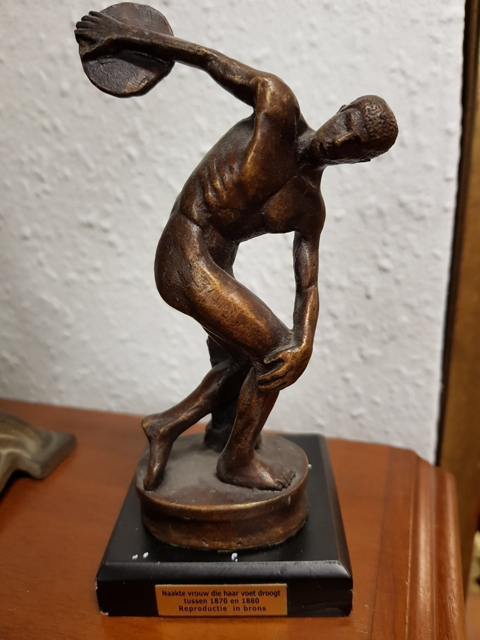 Bronz szobor reprodukció