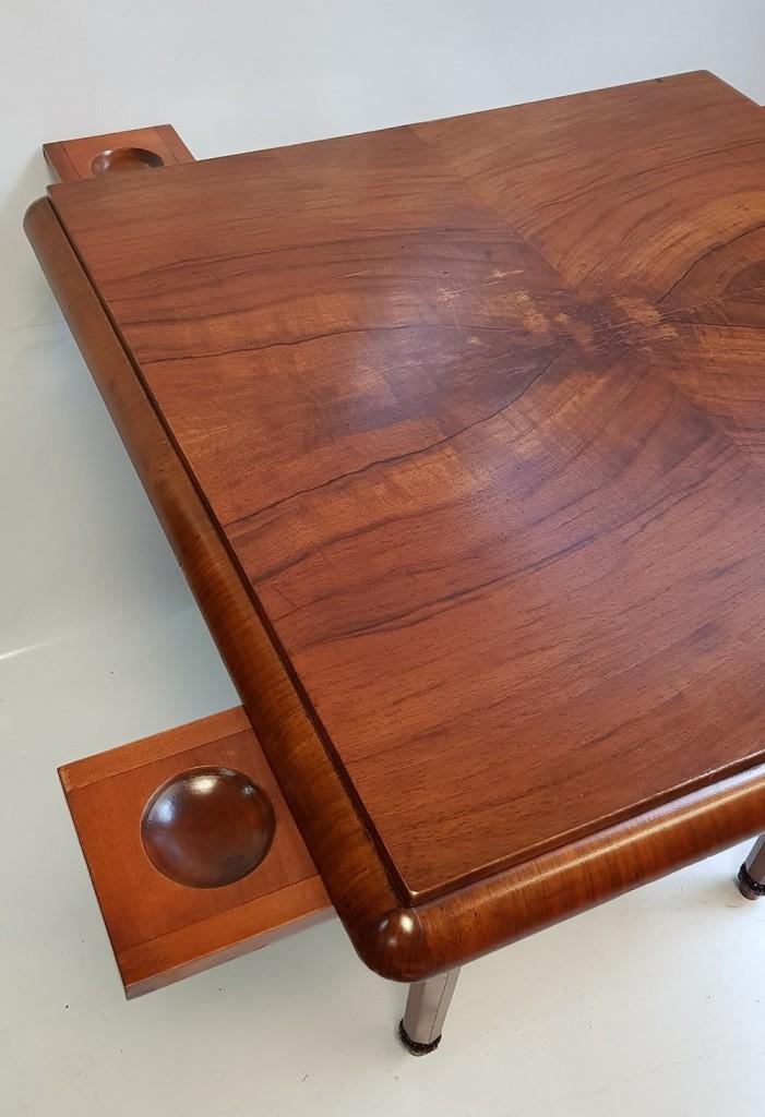 Copf stílusú kártyaasztal