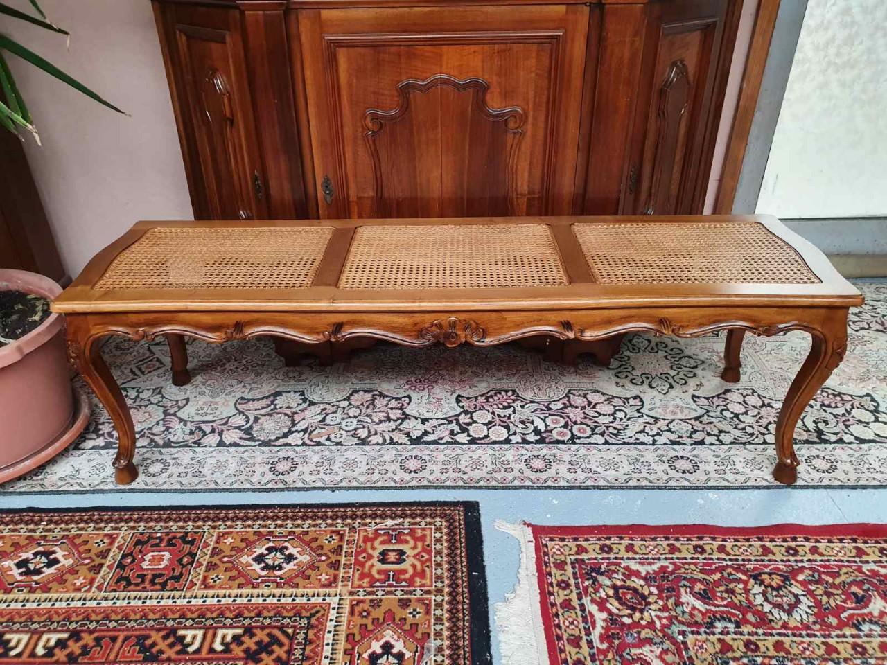 Barokk rattan, thonett hálós pad vagy asztal