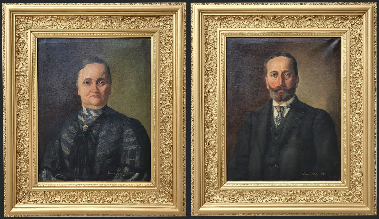 Ludányi Bay Sándor és neje Klobusitzky Mária