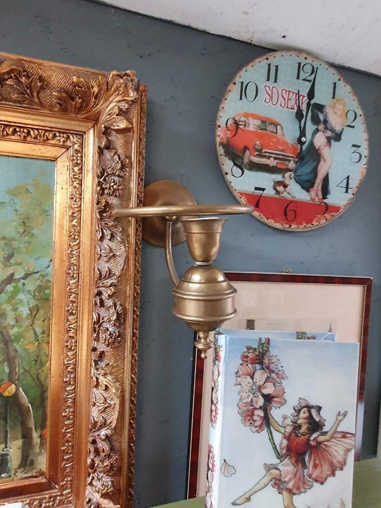 Réz, bronz falikarok, fali lámpák