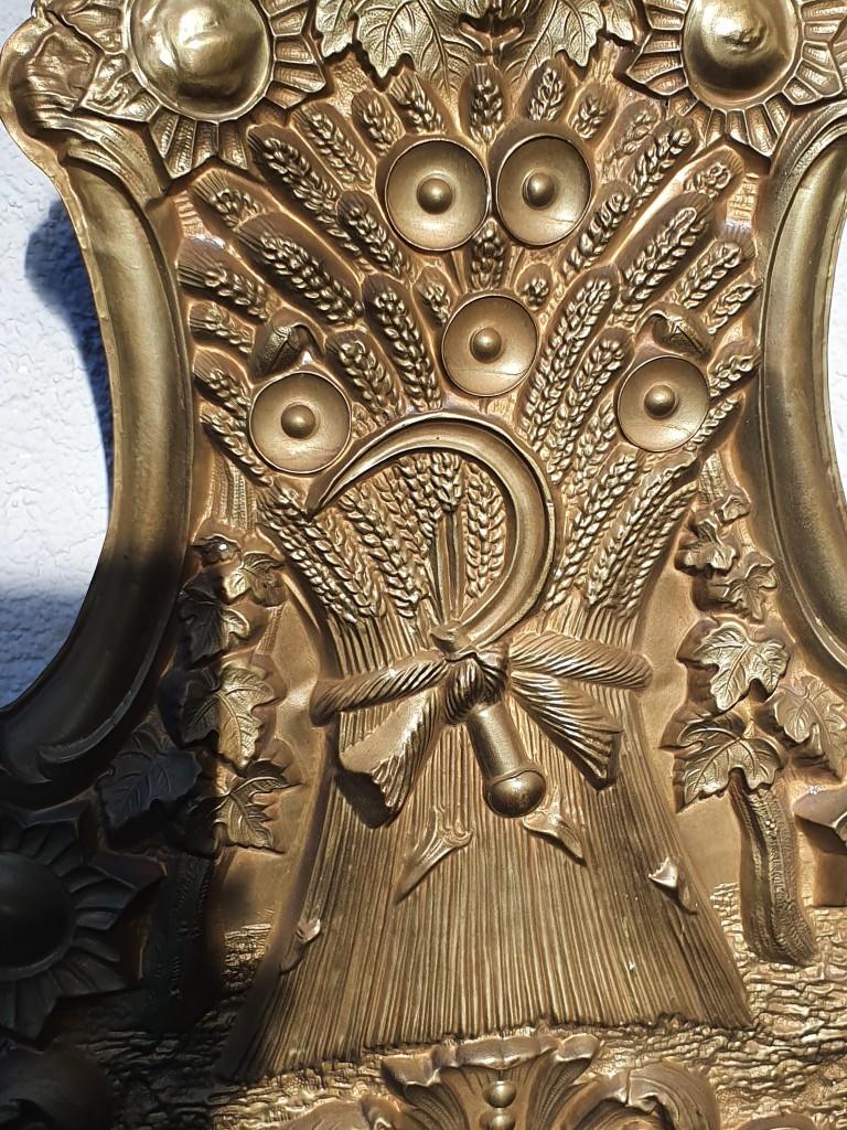 Antik francia comtoise falióra